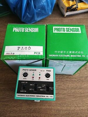 Pa60 Time Relay Photo Sensor 5a 250vac 12vdc X 1pc