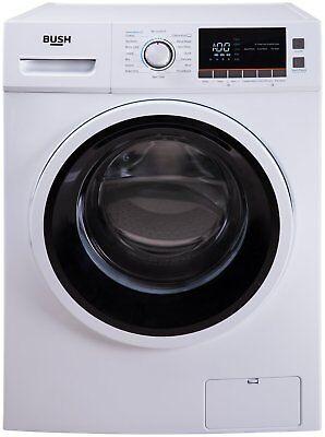 Bush WMNBX814W Free Standing 8KG 1400 Spin Washing Machine A+++ White