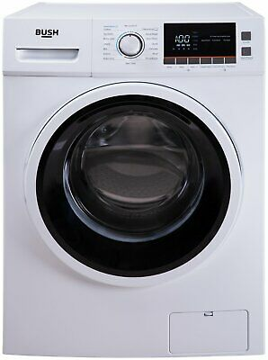 Bush WMNBX1214W Free Standing 12KG 1400 Spin Washing Machine A+++ White