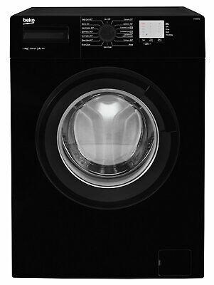 Beko WTG820M1B Free Standing 8KG 1200 Spin Washing Machine A+++ Black