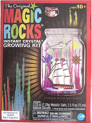 Original MAGIC ROCKS Instant Crystal Growing Kit fun science project toy grow - Magic Science Kit