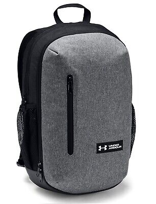 Under Armour UA ROLAND Storm™ 17L Graphite Heather Backpack Book Bag