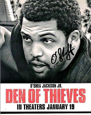 O'SHEA JACKSON JR. DEN OF THIEVES AUTOGRAPHED HAND SIGNED 8X10 PHOTO W/COA