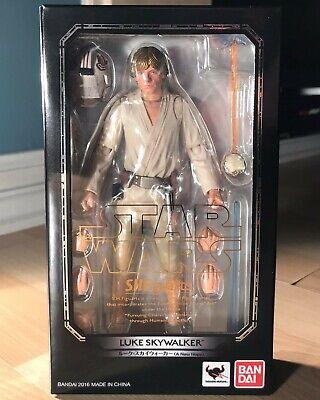 BANDAI S.H.Figuarts Star Wars Luke Skywalker (A NEW HOPE) Japan Import in USA.
