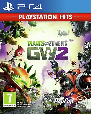 Plants vs Zombies Garden Warfare 2 Sony Playstation PS4 Hits Game 7+ Years