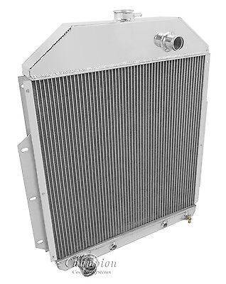1948 1949 1950 1951 1952 Ford F1 F2 F3 Truck 3 Row RS Radiator ( Ford V8 )