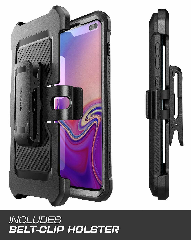 SupCase Coque Samsung S10e Coque Int/égrale de Protection Robuste Anti-Choc avec Protecteur d/écran Int/égr/é et B/équille Noir pour Samsung Galaxy S10e 2019 Unicorn Beetle Pro