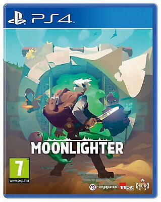 Moonlighter Sony Playstation PS4 Game 7+ Years