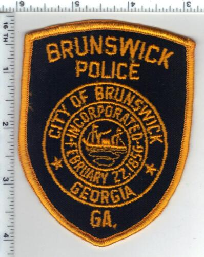 Brunswick Police (Georgia) Shoulder Patch - new from 1980