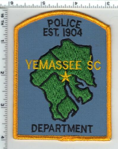 Yemassee Police (South Carolina) Shoulder Patch new from the 1980