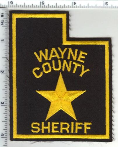 Wayne County Sheriff (Utah) Shoulder Patch - 1980