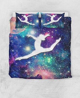 Gymnast Gymnastics / Dance Bed Cover / Quilt Cover 100% Cotton Gymnastik Bettwäsche