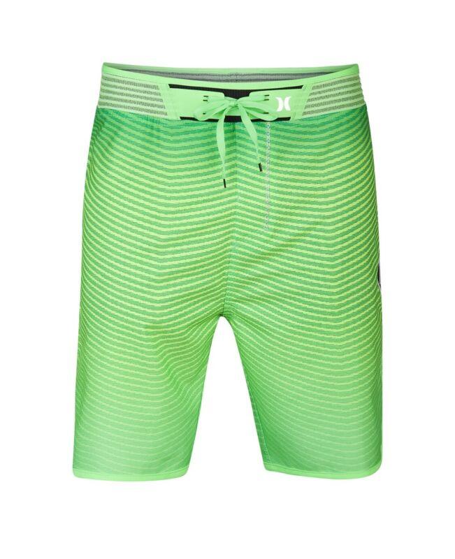 NWT Mens Hurley Phantom Hyperweave Flow Lime Green 34 Waist