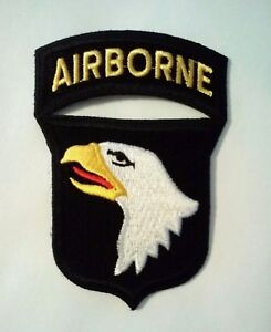 101st Airborne Patch with Rocker   3