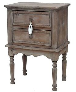 style ancienne petite commode console table de chevet meuble d appoint en bois ebay. Black Bedroom Furniture Sets. Home Design Ideas