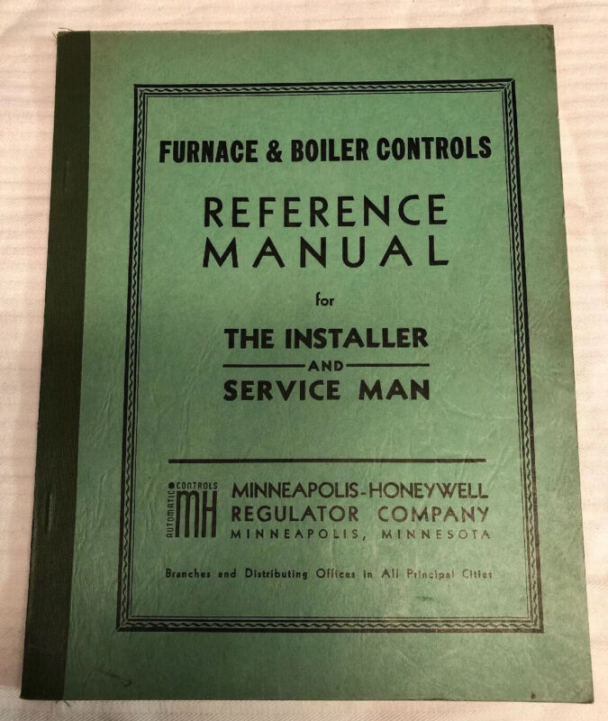 1940's Furnace & Boiler Controls Reference Manual
