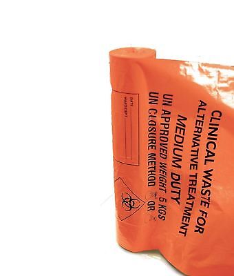Medium Duty Clinical Waste Sacks, 11x17