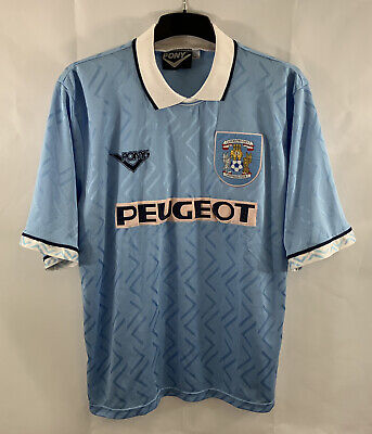Coventry City Home Football Shirt 1994/96 Adults XL Pony A987 image