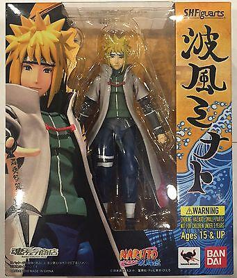 S H Figuarts Namikaze Minato Naruto Shippuden Action Figure Bandai NEW IN STOCK
