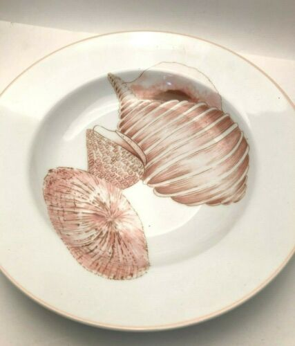 "Coquille by Fitz and Floyd large Soup Plate 9.25"", 3 shells"