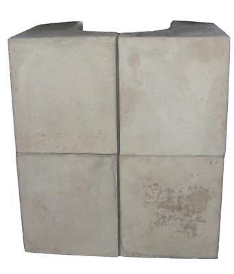 Fireplace Wärmespeichersteine für Kaminofen Adelaide (4x) HxBxT 26,3x17x19cm