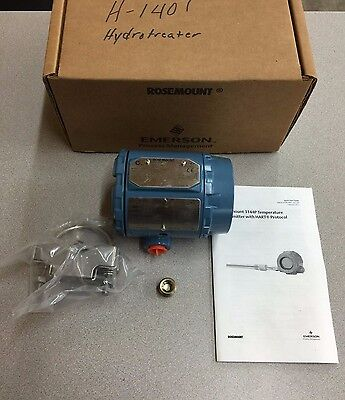 New In Box Rosemount Hart Temperature Transmitter 3144p D1a1e5b4m5q4