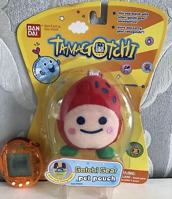 Tamagotchi Orange With A Pet Pouch