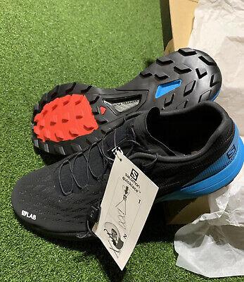 Salomon S/Lab XA Amphib 2 Black/Blue Men's Size 11.5 FREE SHIPPING