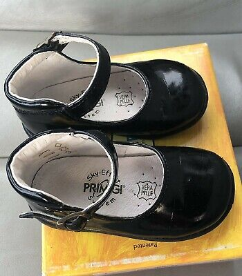 Primigi Baby Girls Holiday Shoes 4.5 Black Patent Leather Mary Janes, Size 20 Baby Patent Leather Shoes