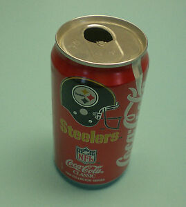 1992 STEELERS COCA COLA COKE CAN