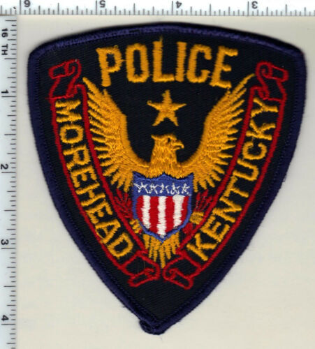Morehead Police (Kentucky) uniform take-off patch - from 1990
