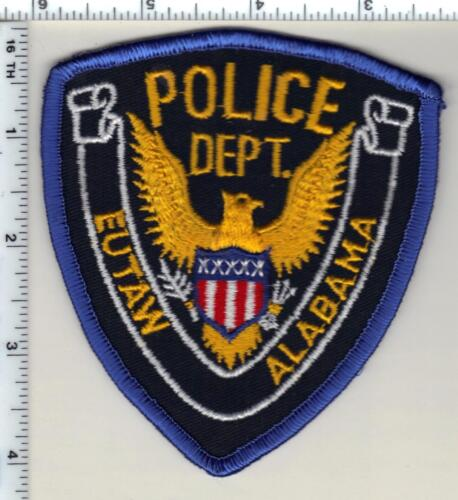 Eutaw Police (Alabama) Shirt/Jacket Patch - New from 1992