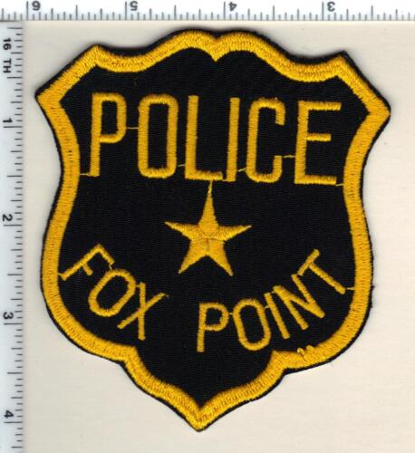 Fox Point Police (Wisconsin) 1st Issue Shoulder Patch - RARE