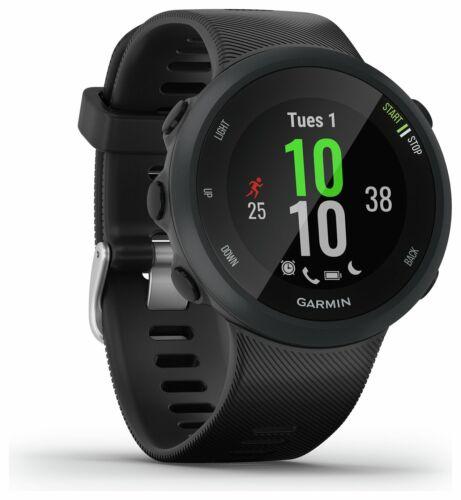 6e7ec8ee2a8809 ... Garmin Forerunner 45 Bluetooth USB GPS Running Watch Large - Black