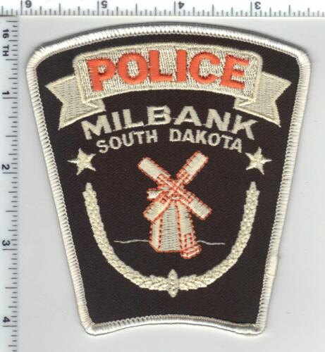 Milbank Police (South Dakota) Shoulder Patch from the 1980