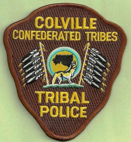 Colville Tribal Police Department Washington