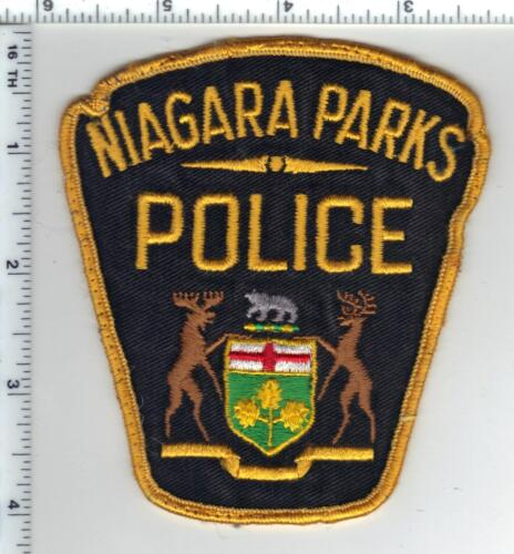 Niagara Parks Police (Canada) Uniform Take-Off Shoulder Patch from Early 1980