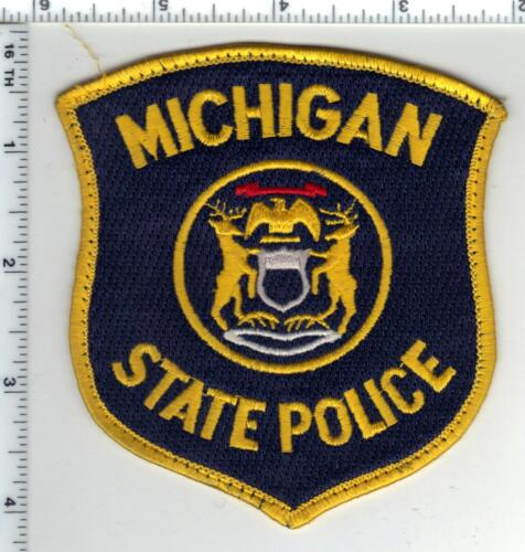 State Police (Michigan) Uniform Take-Off Shoulder Patch late 1980