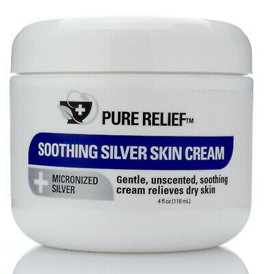 Pure Relief Soothing Silver Skin Cream 4 Fl oz (118mL)
