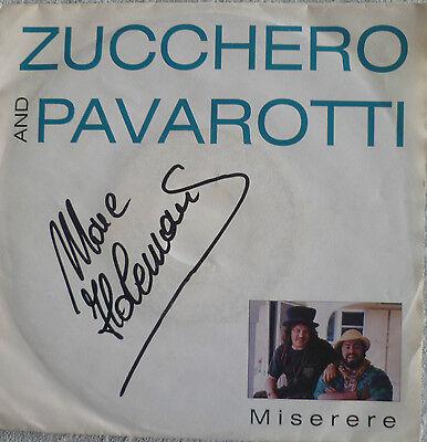 """7"""" 1992 RARE ! ZUCCHERO & LUCIANO PAVAROTTI : Miserere"""