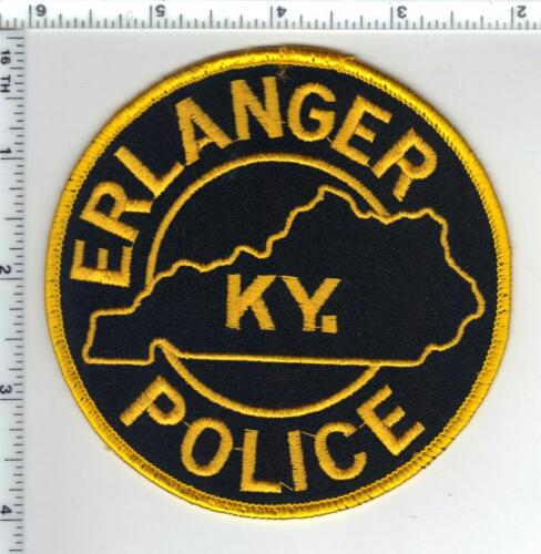 Erlanger Police (Kentucky) Shoulder Patch - new from the 1980