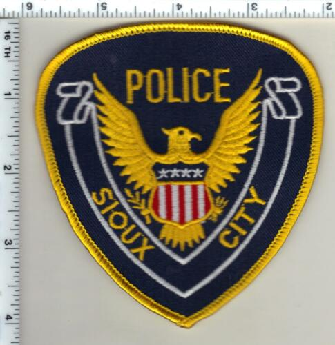 Sioux City Police (Iowa)  Shoulder Patch - new from 1990