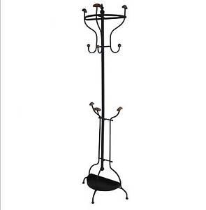 style ancien porte manteaux parapluie perroquet sur pied d entr e en fer metal ebay. Black Bedroom Furniture Sets. Home Design Ideas