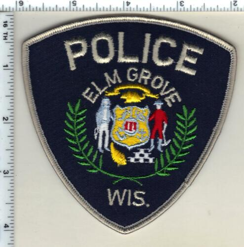 Elm Grove Police (Wisconsin) 1st Issue Shoulder Patch from 1991