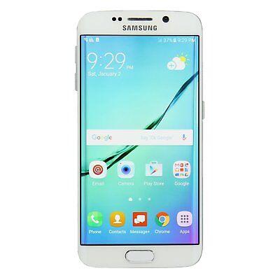 Samsung Galaxy S6 Edge SM-G925T 32GB White Pearl T-Mobile New Cond. Smartphone