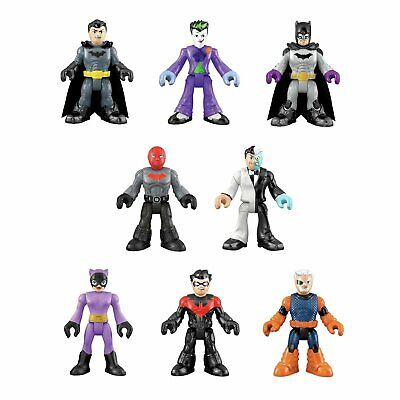 Imaginext DC Super Friends Series 1 Complete Set Red Hood Nightwing Slade MORE++