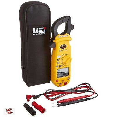 Uei Test Instruments Digital Clamp On Meter Ac Dc Amp Auto Ranging Diode Test