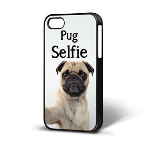 PUG-SELFIE-FUNNY-DOG-ANIMAL-CASE-COMPATIBLE-WITH-IPHONE-4-4S-5-5c-5s