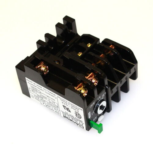 AROMAT BMA9-005-20 Pwr Thermo Contactor 0.35~0.5a Adj Range Push Reset qty=1