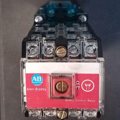 Allen Bradley - 700S-DCP1020Z24 - Series D - Safety Control Relay